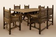 Мебель под старину,  кровати,  столы,  стулья,  лавки,  беседки, кресла, бани