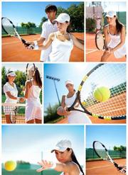 Игра в большой теннис и аренда корта