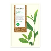 Innisfree It's Real Green Tea Mask 20ml / Тканевая маска.