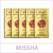 Missha DONG BAEK Gold Shampoo,  9 ml /  Шампунь для волос
