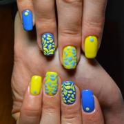 Наращивание ногтей гелем-Новогодняя акция