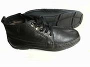 Комфортные ботинки мужские кожаные зимние. Качество. Низкие цены.