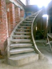 Изготовление лестниц из бетона Хмельницкий