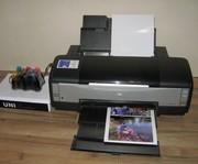 Принтер Epson Photo 1410,  Максимальный размер бумаги 32, 9 х 111, 7 cм.