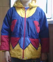 курточка разноцветная