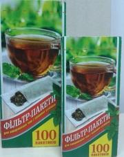 Фильтр пакеты для заваривания чая XXL