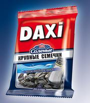 Соленые семечки жареные Дакси 60 г