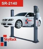 Двухстоечный подъемник Sky Rack SR-2140 на 4000 кг,  электромаг. разбл.