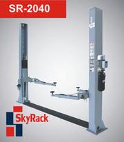 Двухстоечный подъемник Sky Rack SR-2040,  380В,  ассиметричные лапы