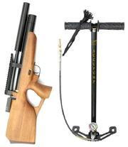 Пневматическая винтовка PCP Kozak Compact ZBROIA с насосом ВД