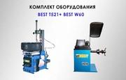 Комплект шиномонтажного оборудования Best T521 и Best W60 купить