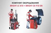 Комплект шиномонтажного оборудования Bright LC810 и CB910GB купить