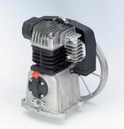 Компрессорная голова MK113,  556 л/мин,  4 кВт,  1300 об/мин,  вес 16 кг