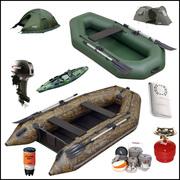 Широкий ассортимент надувных лодок ПВХ