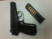 Продам ПМР 9мм для отстрела эластичными пулями