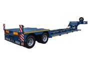 Низкорамные полуприцепы (тралы) для перевозки негабаритных грузов и се