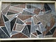 Распродажа гранитной брекчии (куски гранита),  а также гранитной плиты.