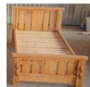 2 Ліжка деревяні односпальні